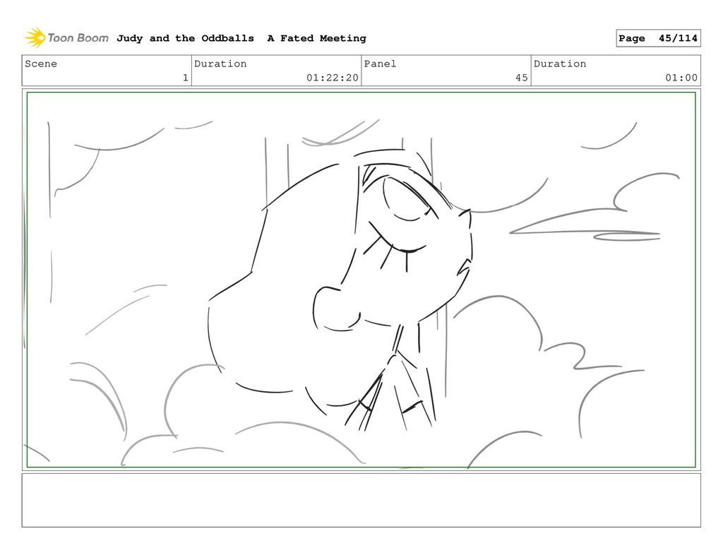 Scene 1 Duration 01:22:20 Panel 45 Duration 01:...