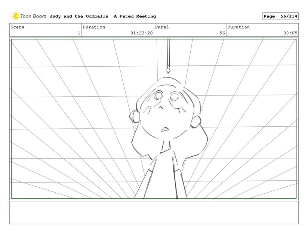 Scene 1 Duration 01:22:20 Panel 56 Duration 00:...
