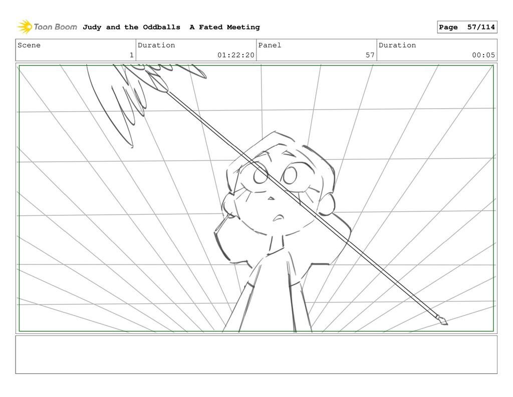 Scene 1 Duration 01:22:20 Panel 57 Duration 00:...