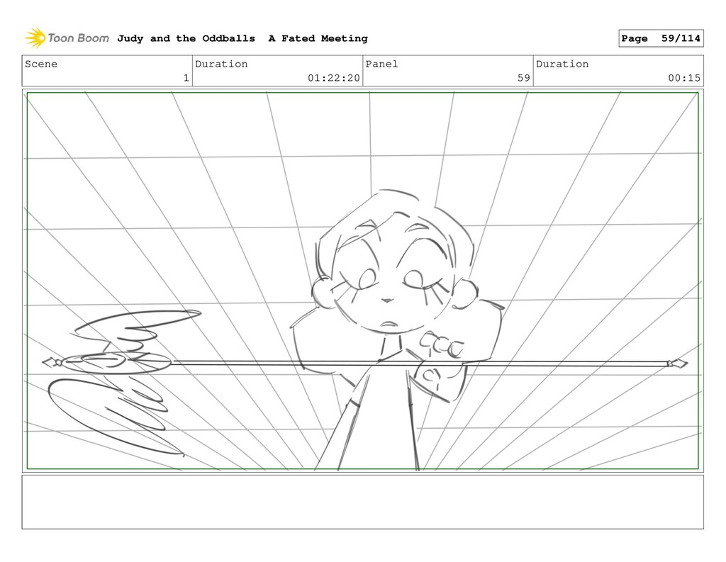 Scene 1 Duration 01:22:20 Panel 59 Duration 00:...