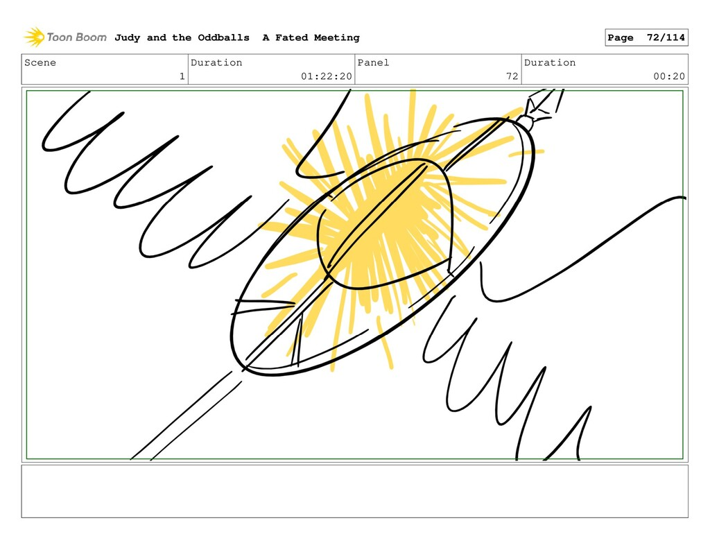 Scene 1 Duration 01:22:20 Panel 72 Duration 00:...