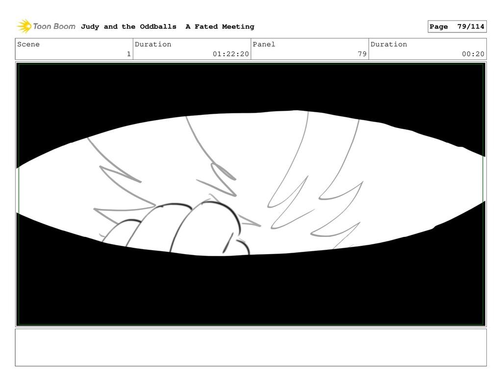 Scene 1 Duration 01:22:20 Panel 79 Duration 00:...