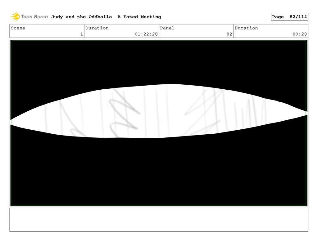 Scene 1 Duration 01:22:20 Panel 82 Duration 00:...