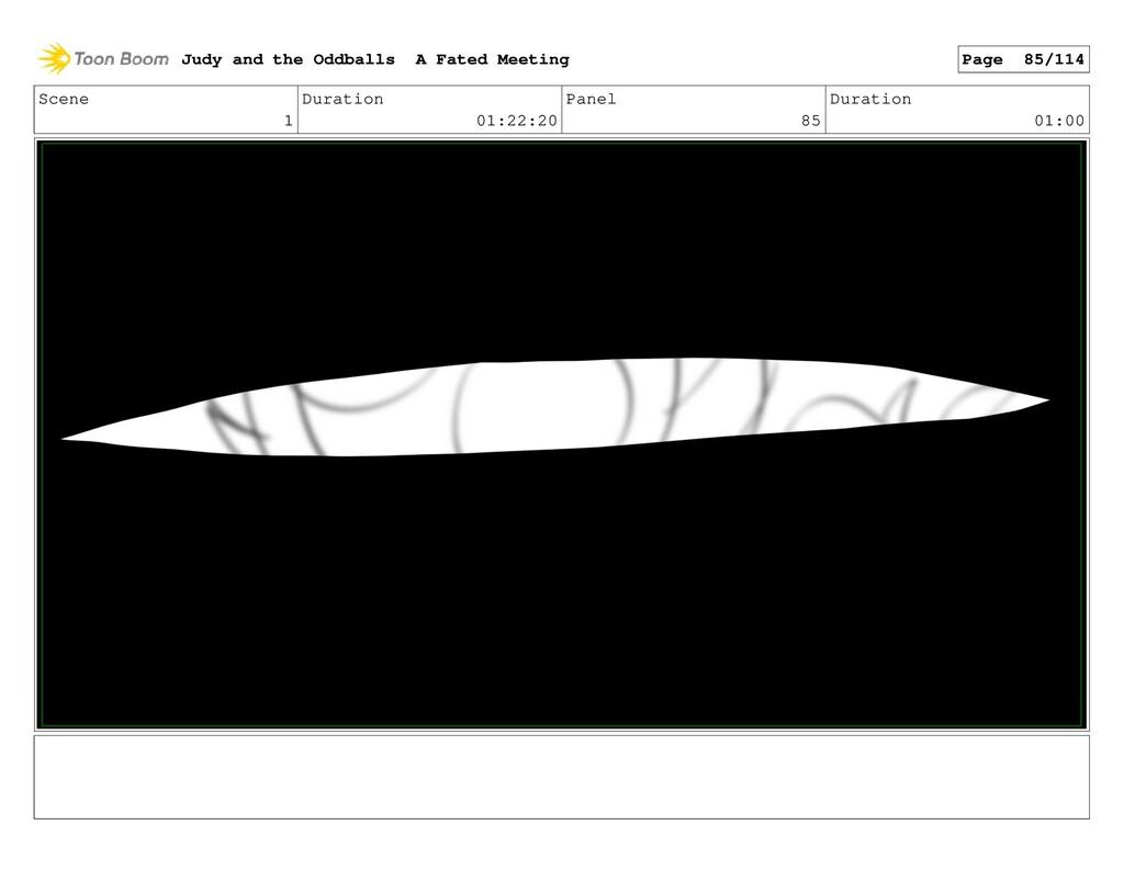 Scene 1 Duration 01:22:20 Panel 85 Duration 01:...