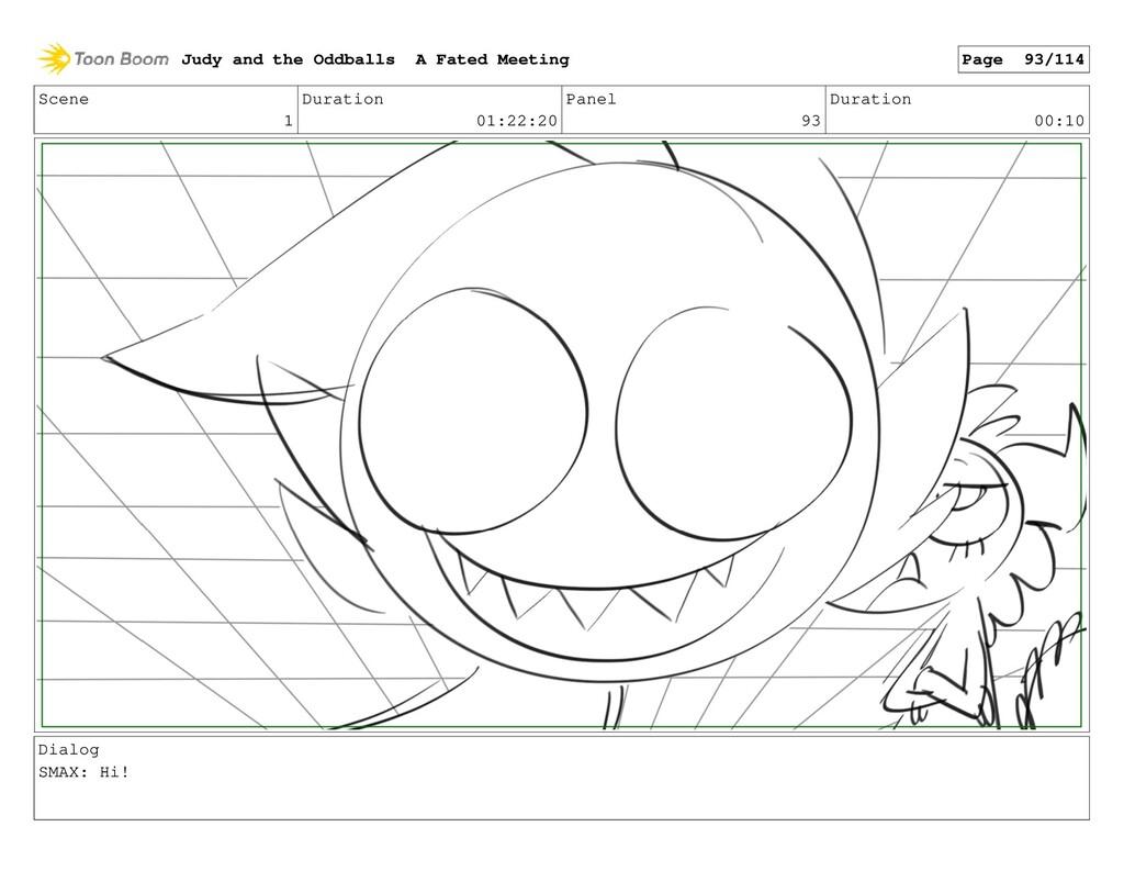 Scene 1 Duration 01:22:20 Panel 93 Duration 00:...
