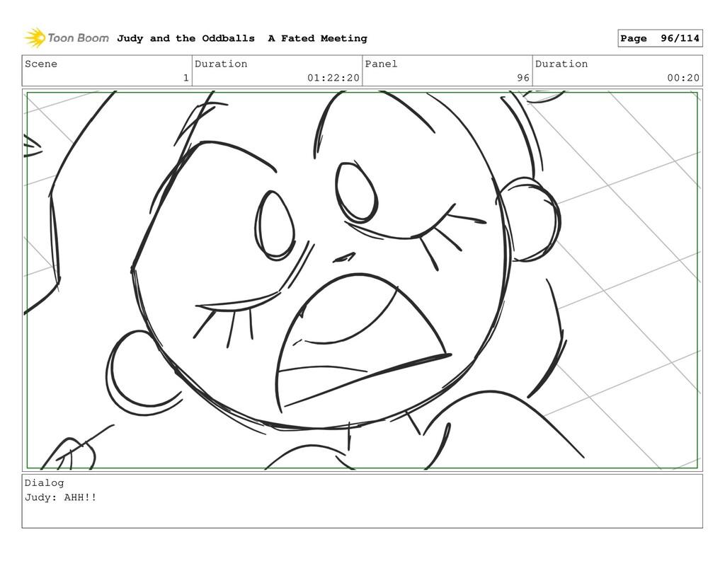 Scene 1 Duration 01:22:20 Panel 96 Duration 00:...