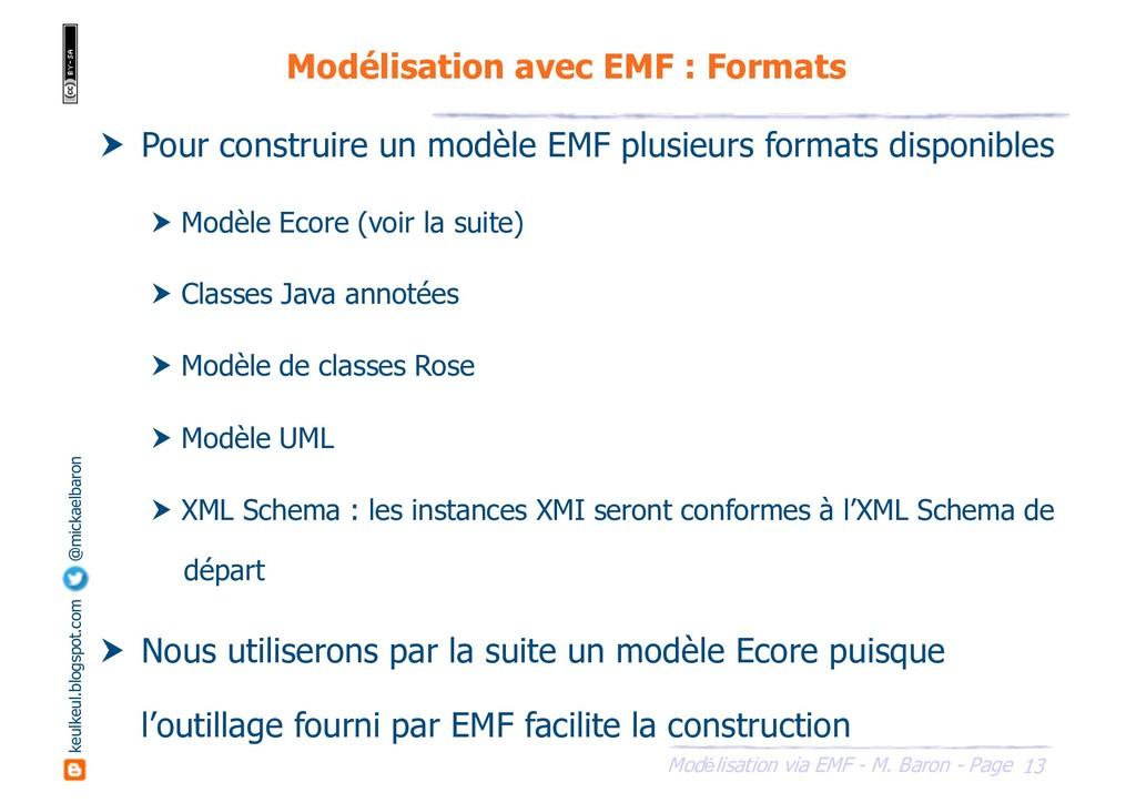 13 Modélisation via EMF - M. Baron - Page keulk...