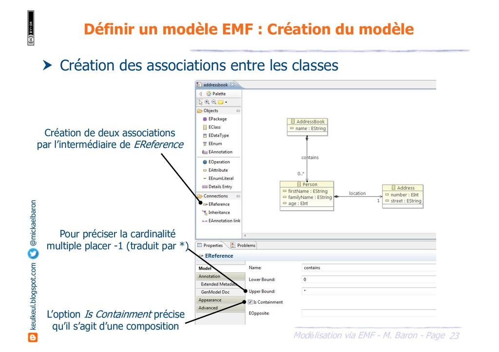23 Modélisation via EMF - M. Baron - Page keulk...