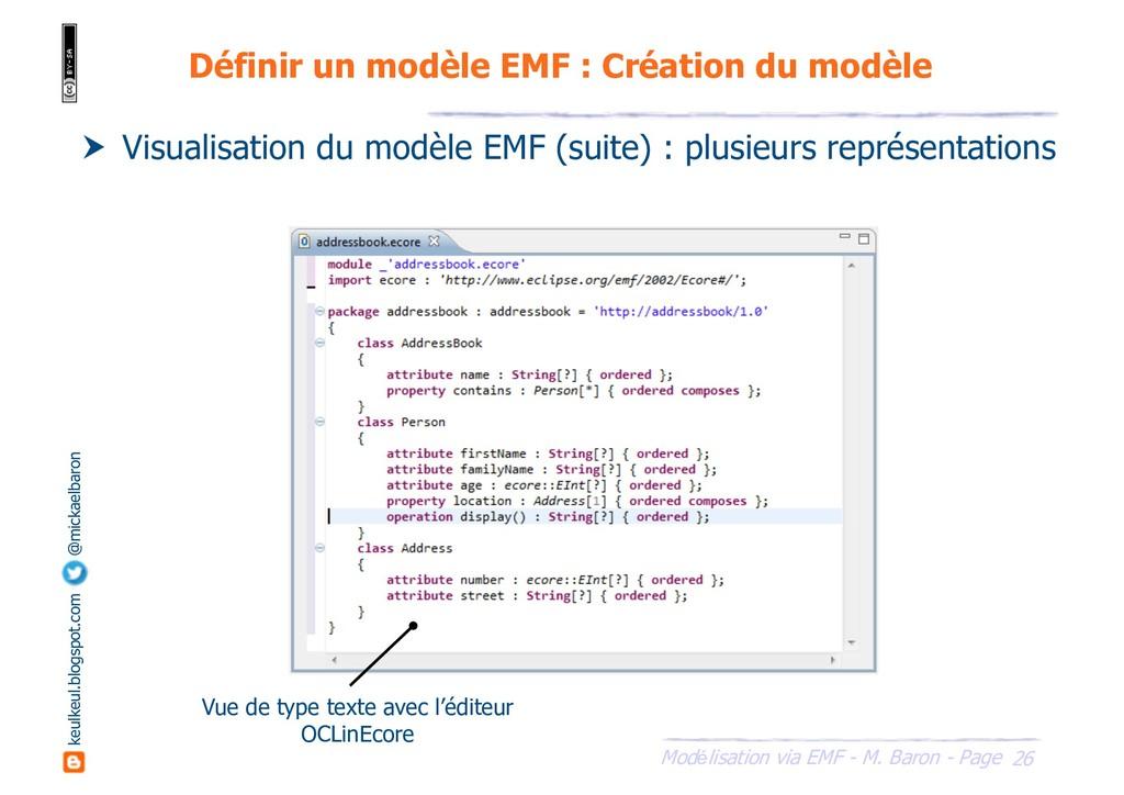 26 Modélisation via EMF - M. Baron - Page keulk...