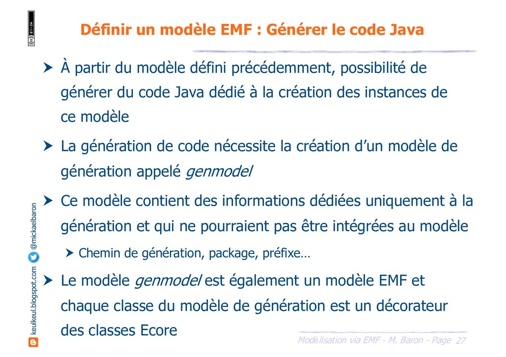 27 Modélisation via EMF - M. Baron - Page keulk...