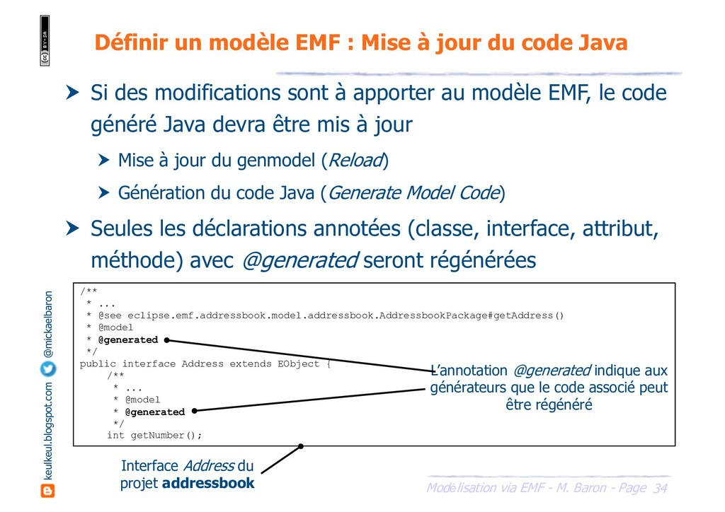 34 Modélisation via EMF - M. Baron - Page keulk...