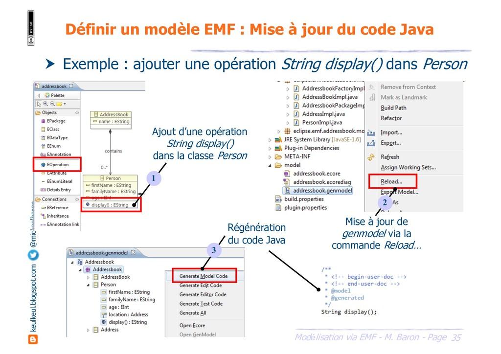 35 Modélisation via EMF - M. Baron - Page keulk...