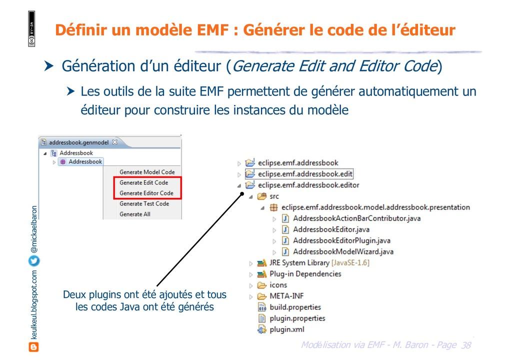 38 Modélisation via EMF - M. Baron - Page keulk...