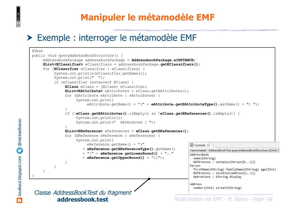 48 Modélisation via EMF - M. Baron - Page keulk...