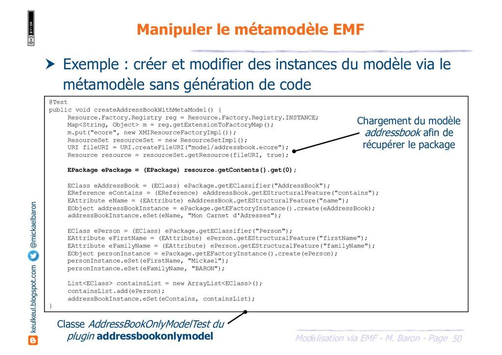 50 Modélisation via EMF - M. Baron - Page keulk...