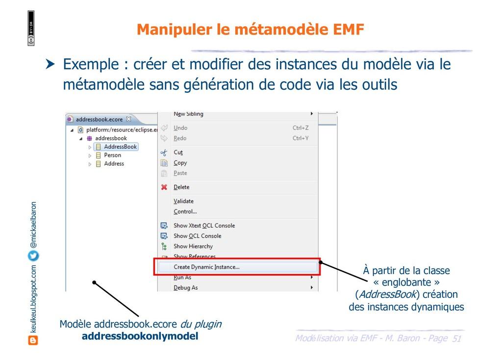 51 Modélisation via EMF - M. Baron - Page keulk...
