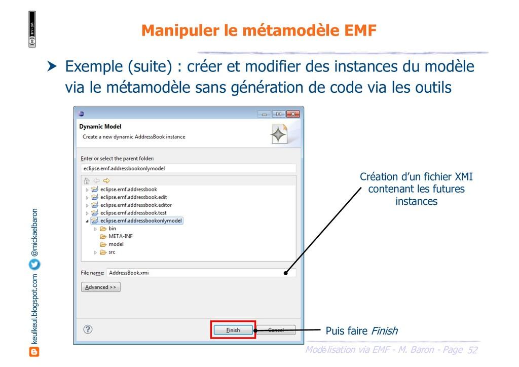52 Modélisation via EMF - M. Baron - Page keulk...