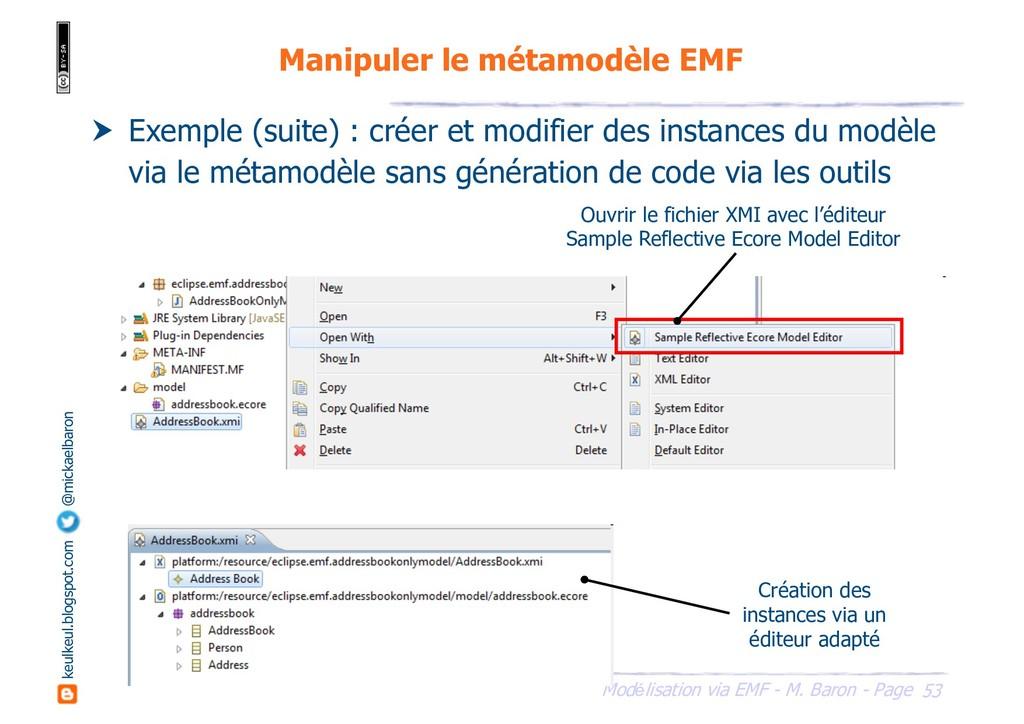 53 Modélisation via EMF - M. Baron - Page keulk...