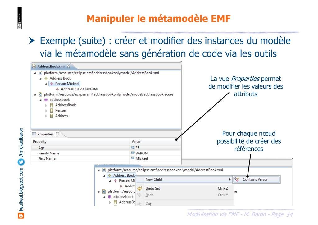 54 Modélisation via EMF - M. Baron - Page keulk...