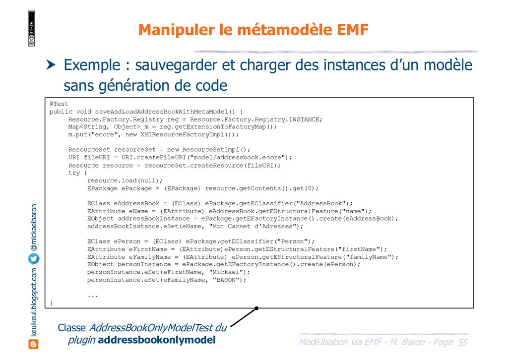 55 Modélisation via EMF - M. Baron - Page keulk...