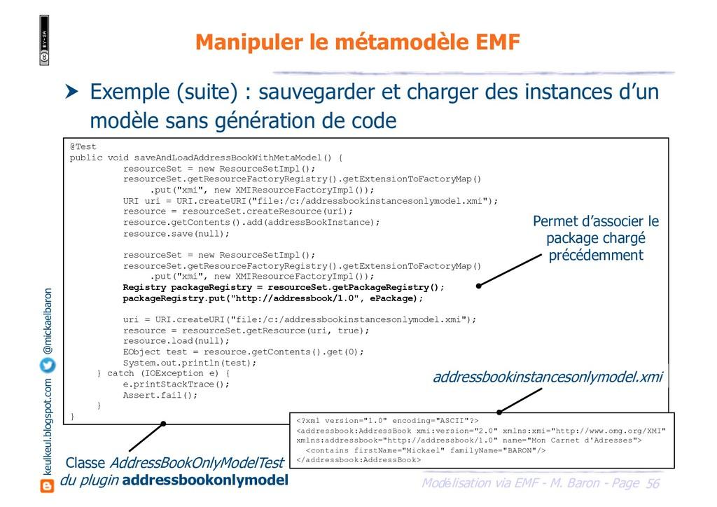 56 Modélisation via EMF - M. Baron - Page keulk...