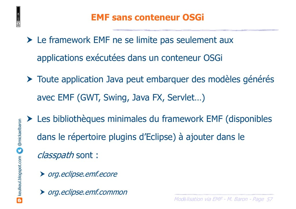 57 Modélisation via EMF - M. Baron - Page keulk...