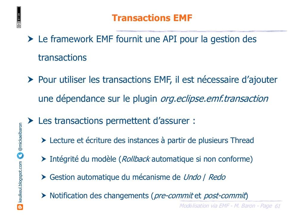 61 Modélisation via EMF - M. Baron - Page keulk...