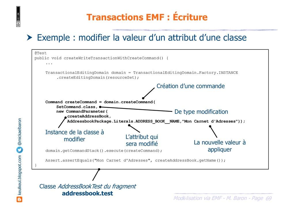 69 Modélisation via EMF - M. Baron - Page keulk...
