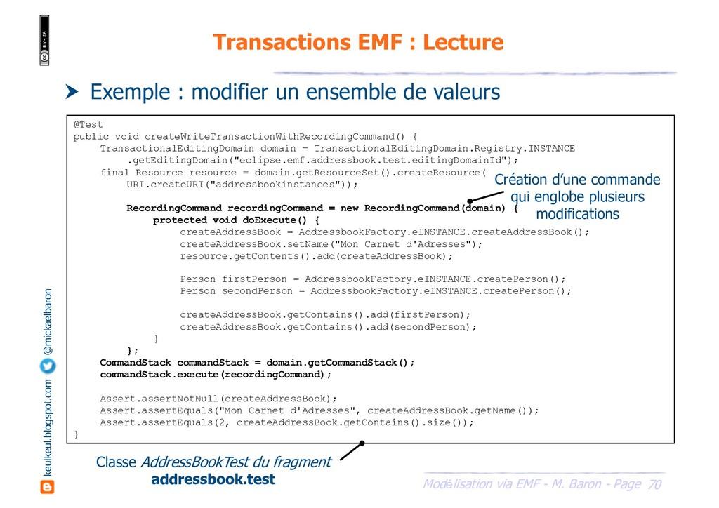 70 Modélisation via EMF - M. Baron - Page keulk...