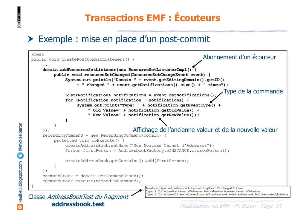 73 Modélisation via EMF - M. Baron - Page keulk...