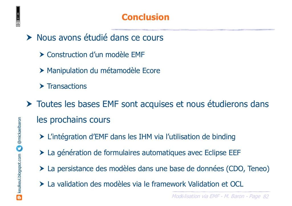 82 Modélisation via EMF - M. Baron - Page keulk...