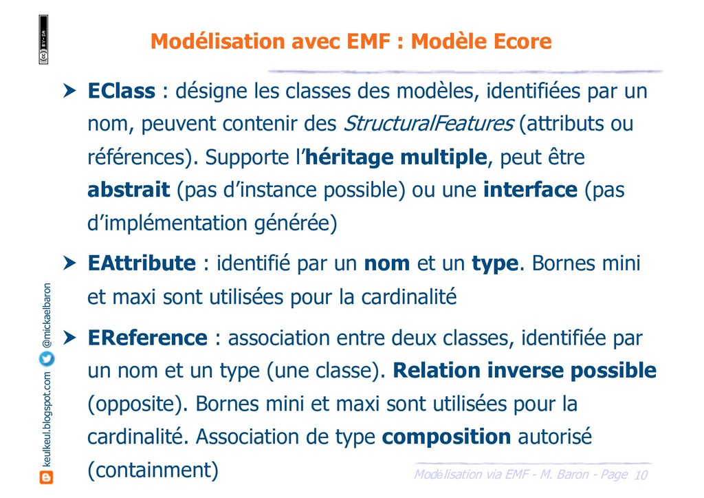 10 Modélisation via EMF - M. Baron - Page keulk...