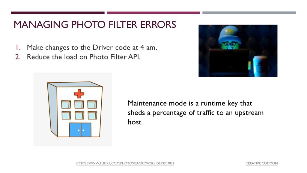 MANAGING PHOTO FILTER ERRORS 1. Make changes to...