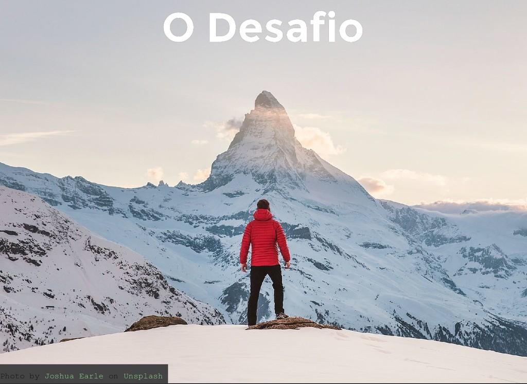 O Desafio O Desafio Photo by on Joshua Earle Un...