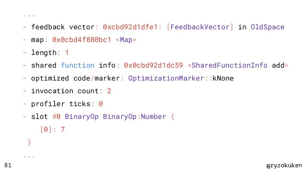 @ryzokuken @ryzokuken 81 ... - feedback vector:...
