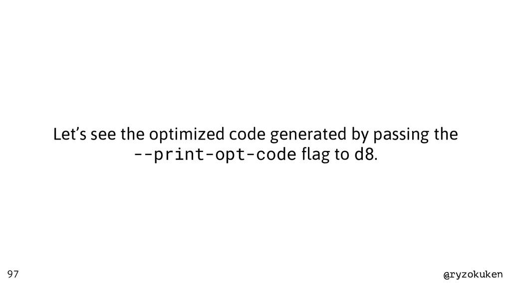 @ryzokuken @ryzokuken 97 Let's see the optimize...