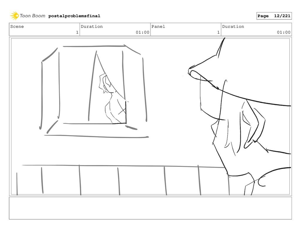 Scene 1 Duration 01:00 Panel 1 Duration 01:00 p...