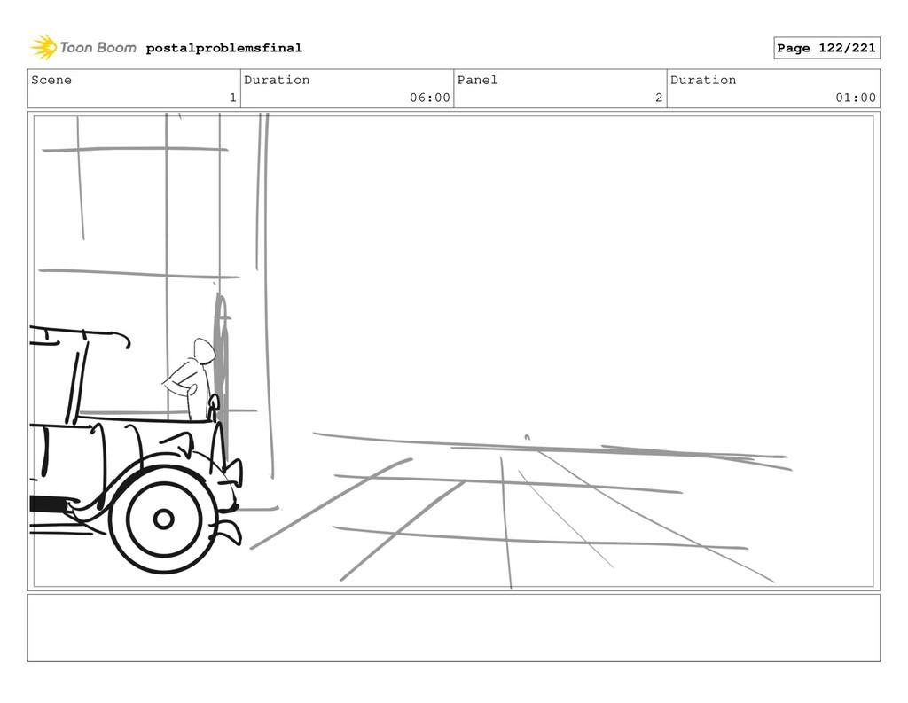 Scene 1 Duration 06:00 Panel 2 Duration 01:00 p...