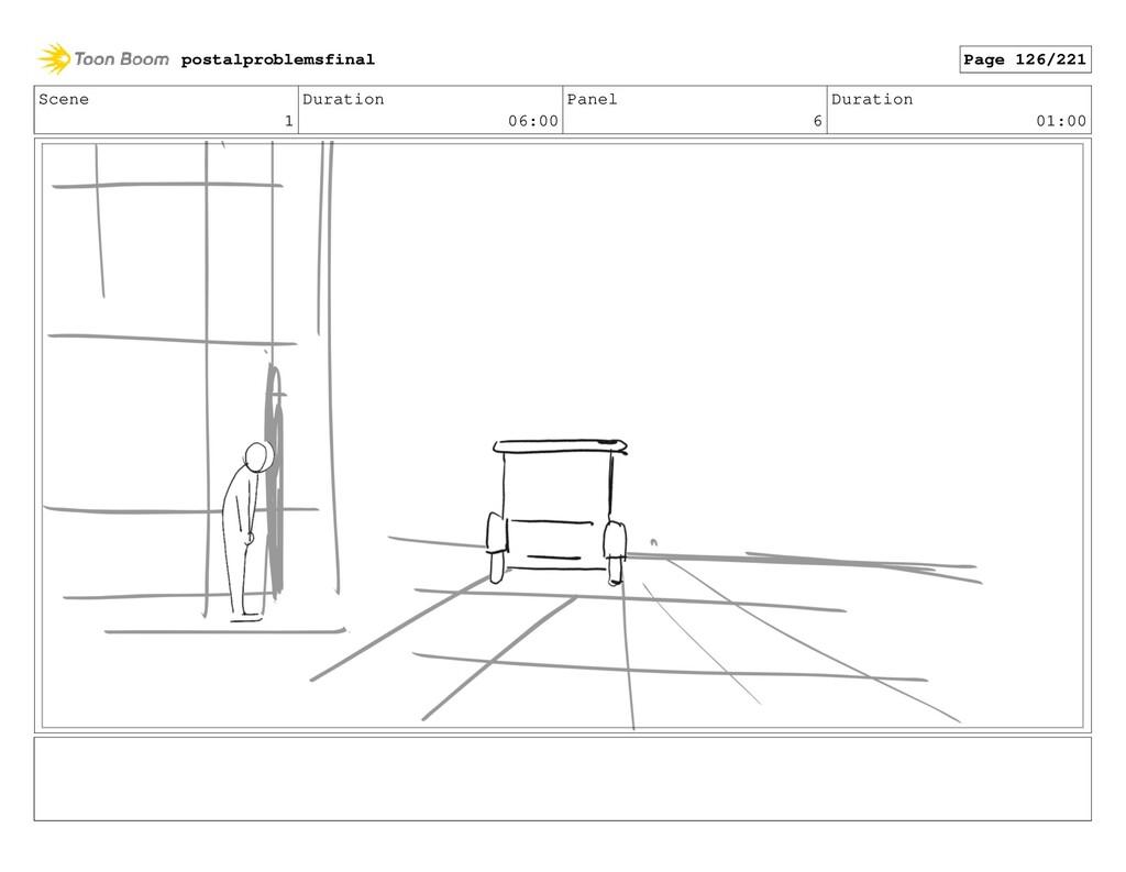 Scene 1 Duration 06:00 Panel 6 Duration 01:00 p...