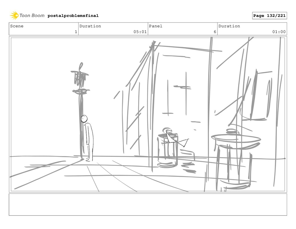 Scene 1 Duration 05:01 Panel 6 Duration 01:00 p...