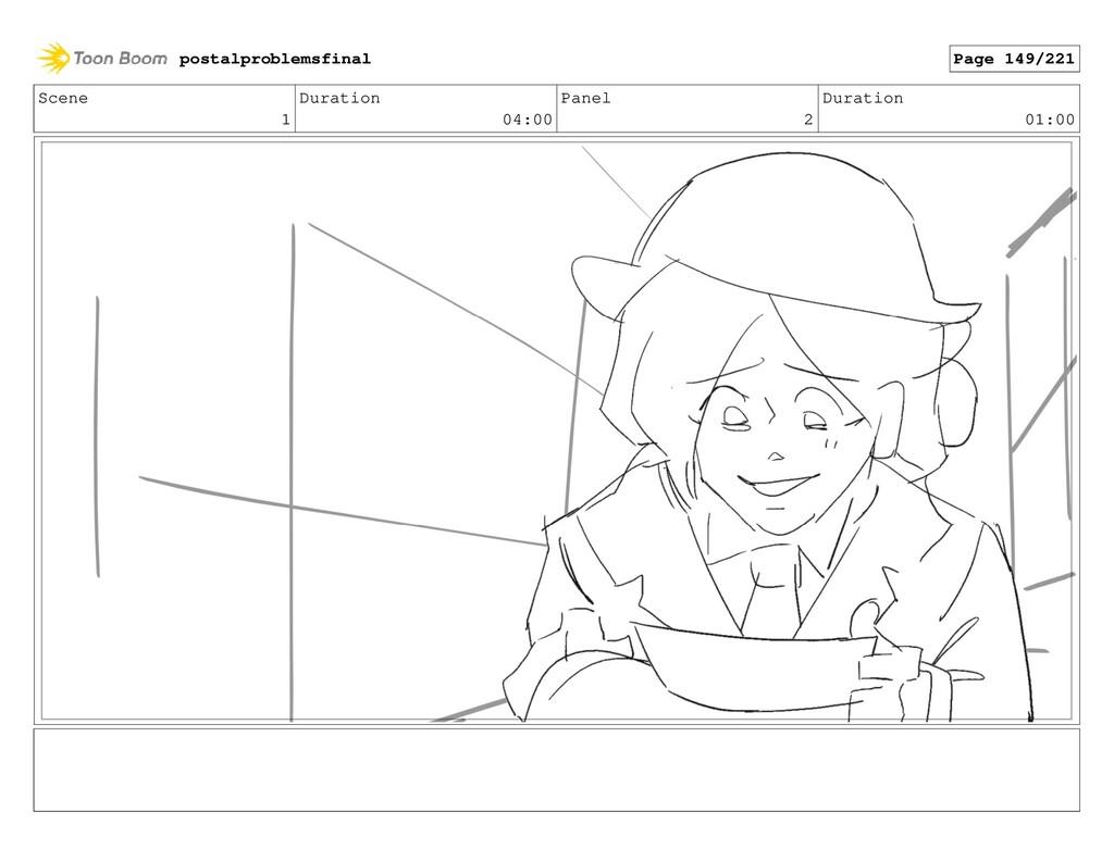 Scene 1 Duration 04:00 Panel 2 Duration 01:00 p...