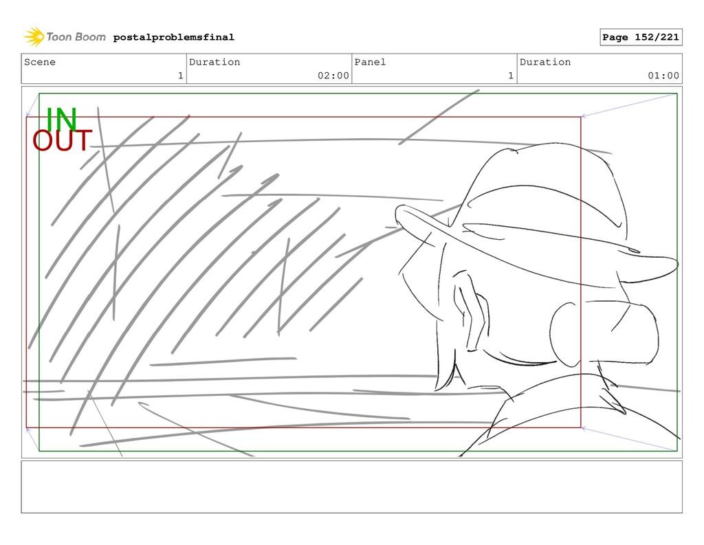Scene 1 Duration 02:00 Panel 1 Duration 01:00 p...