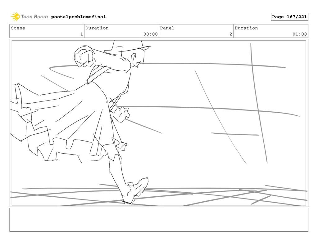 Scene 1 Duration 08:00 Panel 2 Duration 01:00 p...