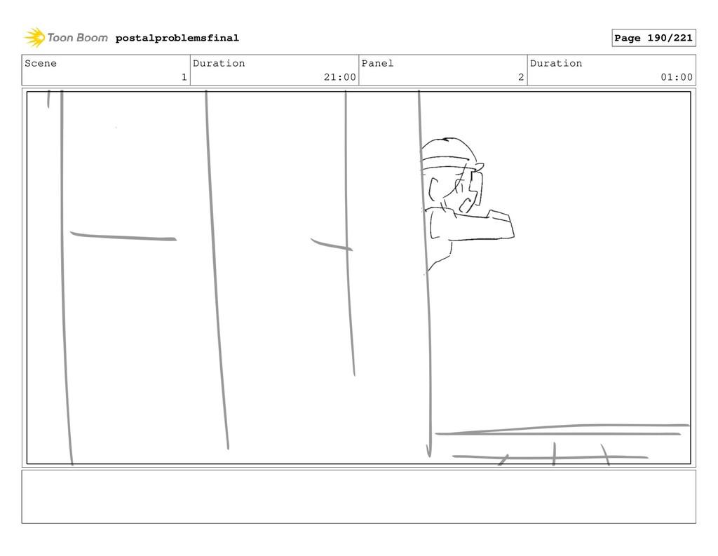 Scene 1 Duration 21:00 Panel 2 Duration 01:00 p...