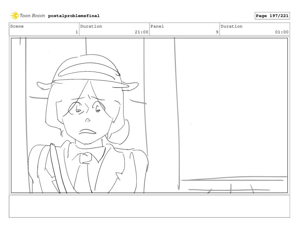 Scene 1 Duration 21:00 Panel 9 Duration 01:00 p...