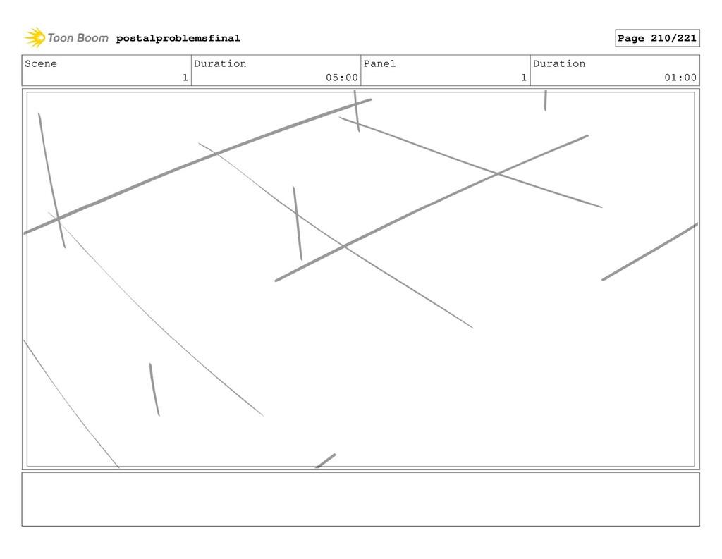 Scene 1 Duration 05:00 Panel 1 Duration 01:00 p...