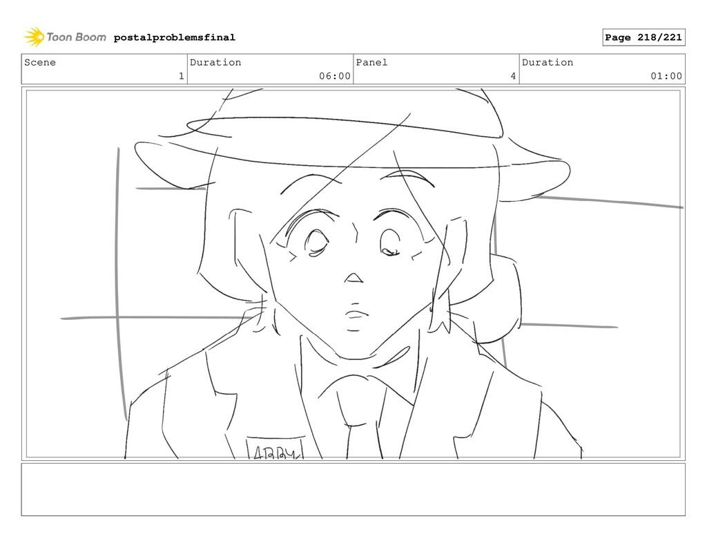 Scene 1 Duration 06:00 Panel 4 Duration 01:00 p...