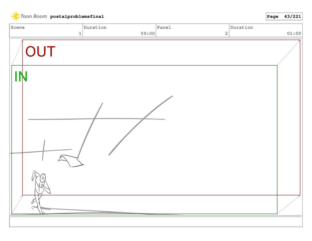 Scene 1 Duration 09:00 Panel 2 Duration 01:00 p...