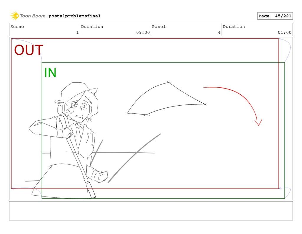 Scene 1 Duration 09:00 Panel 4 Duration 01:00 p...