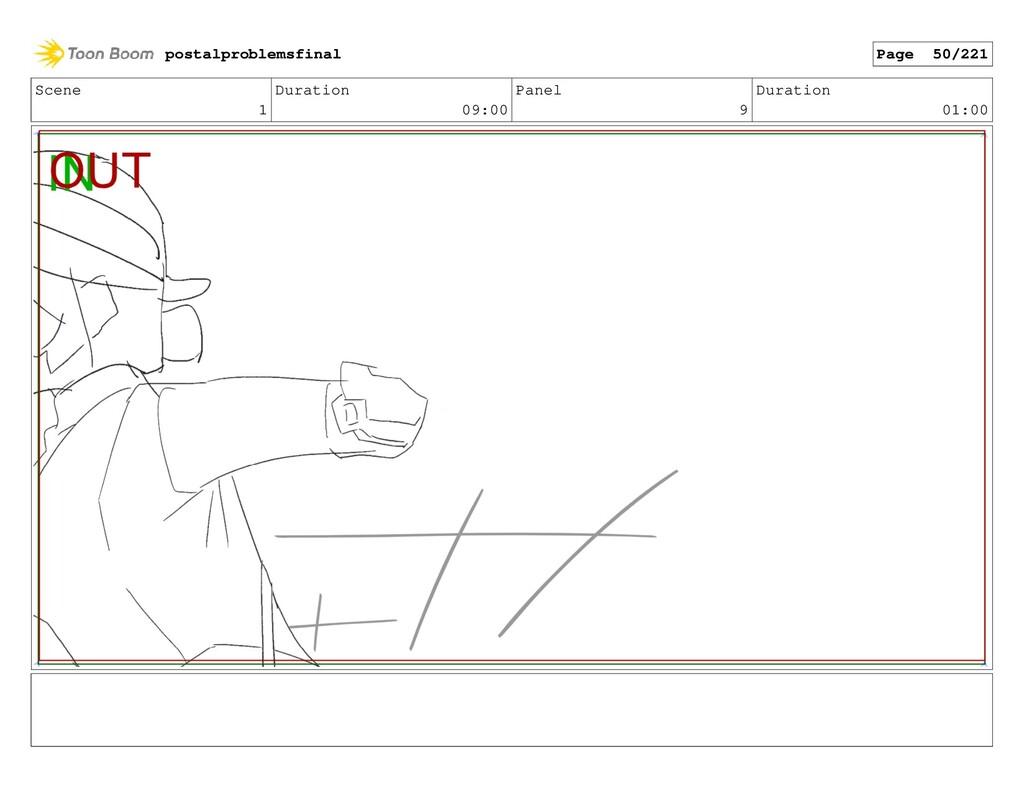 Scene 1 Duration 09:00 Panel 9 Duration 01:00 p...